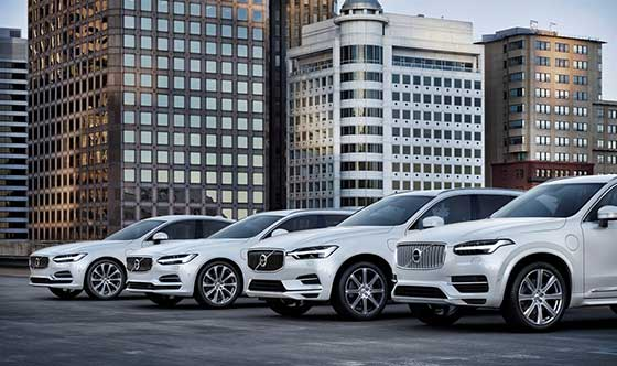 Volvo Cars electrification strategy recognized by United Nations