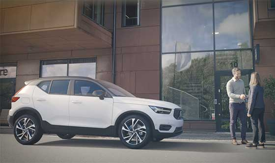 Having a new Volvo XC40 will be hassle free