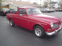 1965 Volvo 122 Custom Pick Up
