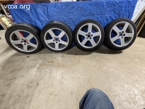 FOUR V70R TIRES AND WHEELS
