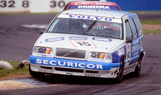 The Volvo 850 Estate in the 1994 BTCC