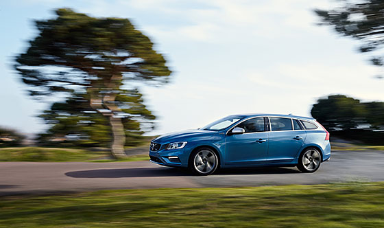 The 2015 Volvo V60 Plug-in Hybrid R-Design