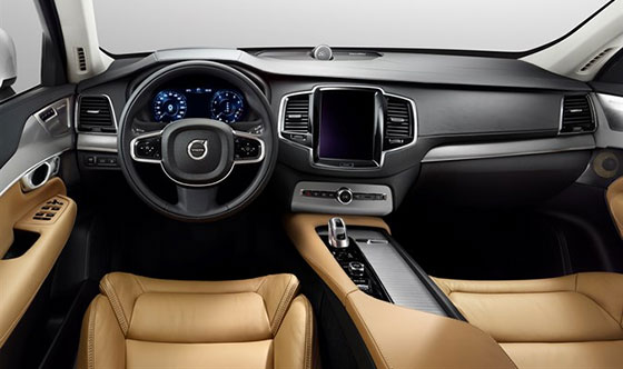 Volvo XC90 Named Among Wards 10 Best Interiors