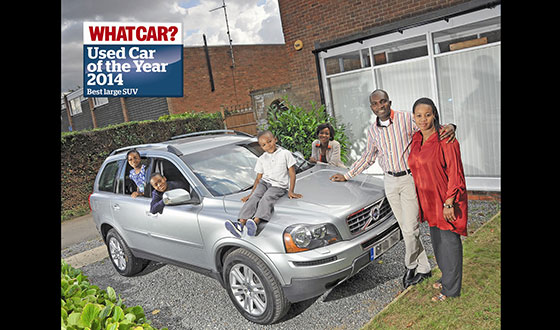 What Car? Names Volvo XC90 As Best Large SUV Winner At Used Car Of The Year Awards 2014