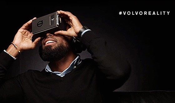 VOLVO IS FIRST AUTOMOTIVE BRAND TO USE GOOGLE CARDBOARD