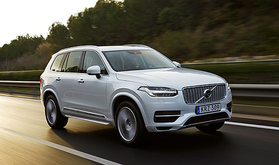 Strong early demand for all-new Volvo XC90