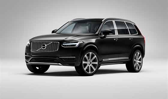 Ultra Luxury Four Seat Volvo XC90 Unveiled at Shanghai Auto show