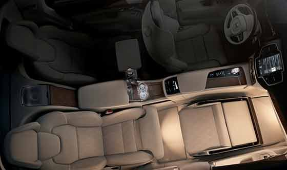 Volvo Cars takes luxury to a new level by unveiling Lounge Console in Shanghai