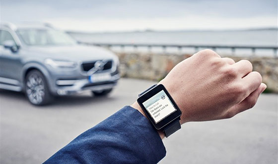 Control your Volvo car from your Apple Watch