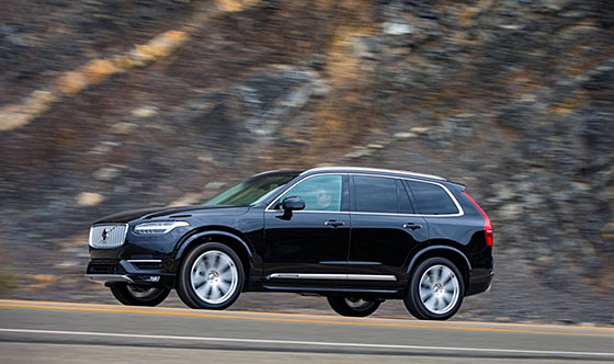 Volvo XC90 voted EUNCAP Best in Class 2015