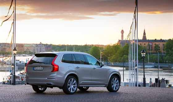 Volvo XC90 courtesy car at the Swedish Royal Wedding