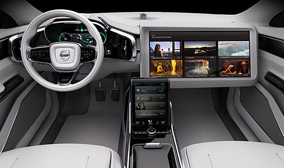 Volvo Cars and Ericsson developing intelligent media streaming for self-driving cars