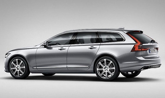 The new Volvo V90 will benefit from more than 60 years of estate heritage