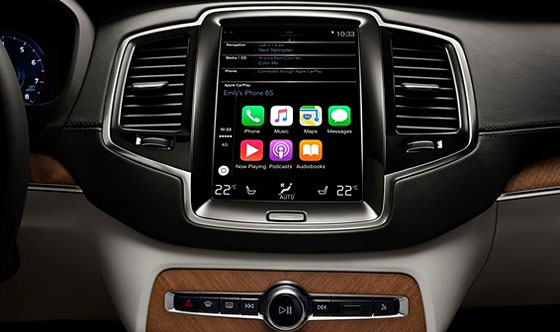 Apple CarPlay, Pandora, Yelp & Other Applications Now Available on Volvo XC90