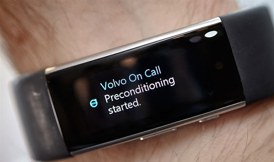 The Future Is Now – Volvo Cars and Microsoft enable people to talk to their cars