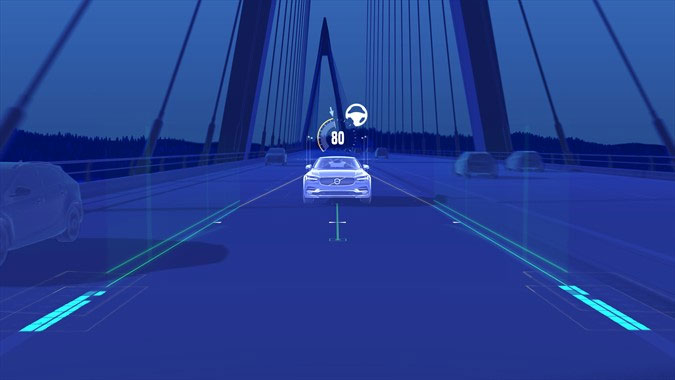 Volvo Car USA Makes Semi-Autonomous Driving Features Standard on All-New Volvo S90 sedan