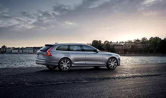 The Volvo V90 Arrives in America