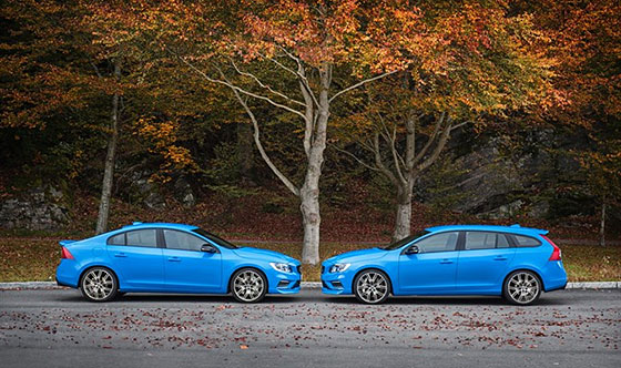 New 367 horsepower Volvo S60 and V60 Polestar now available