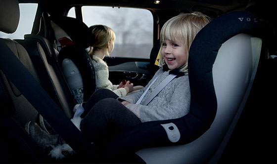 Volvo Cars adds to safety with new generation child seats