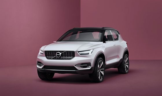 Volvo Cars Unveils 40 Series Concept Cars