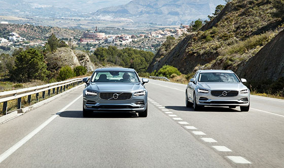Volvo S90 and V90 achieve top AEB Pedestrian safety ratings