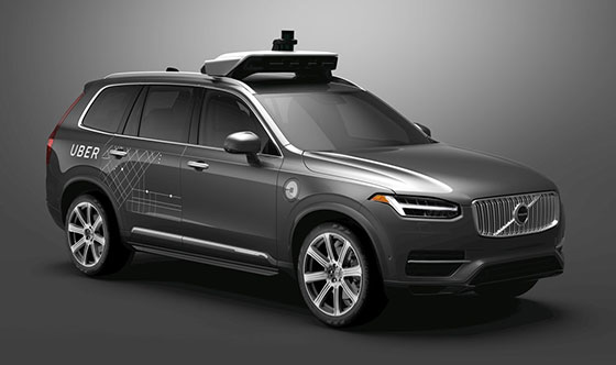 Volvo Cars and Uber to develop autonomous cars