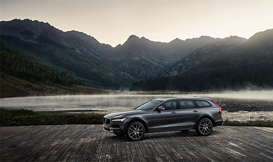 New Volvo V90 Cross Country - The Land of Cross Country (video)