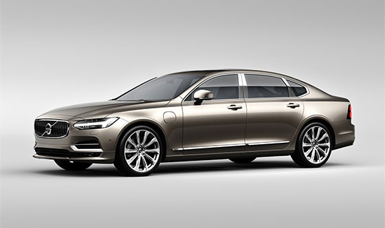 Volvo   Cars unveils new version of the S90 sedan and top-of-the-line S90