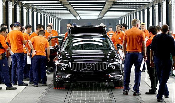 Volvo Cars expands production in China and unveils new China strategy (video)