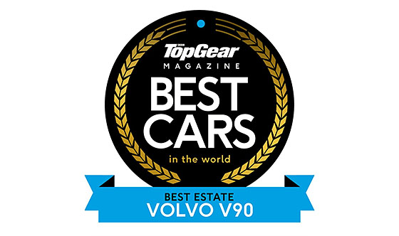 Volvo V90 awarded Best Estate
