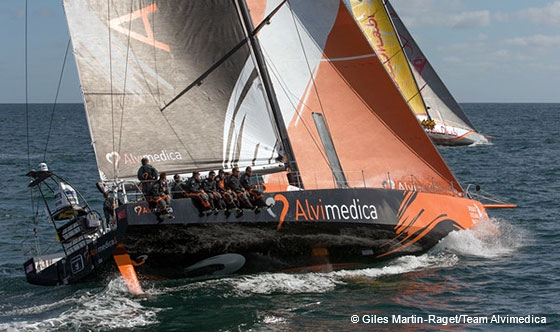 Dock Talk: Five Volvo Ocean Race Teams Face Off In Round Britain Test