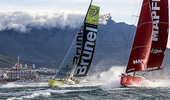 Team Brunel breeze out of Cape Town