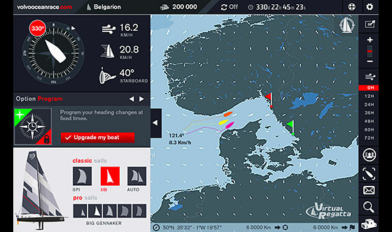 Virtual   Volvo Ocean Race 2014-15 – it's just like the real thing