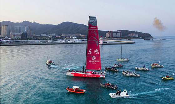 Dongfeng makes race history for China