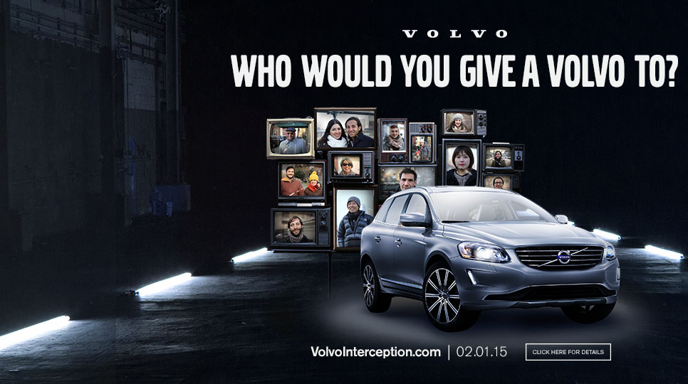 Who would you give a Volvo to?