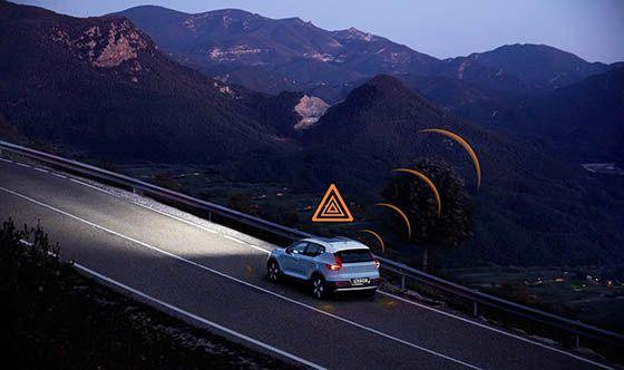 Volvo Cars helps warn U.S. drivers of road hazards