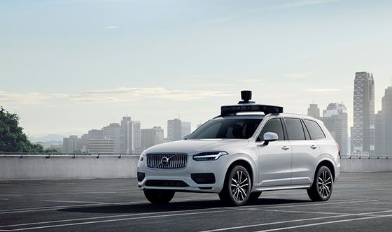 Volvo Cars and Uber present production vehicle