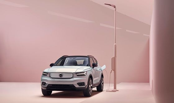 Volvo XC40 Recharge named Best Electric Luxury Subcompact SUV