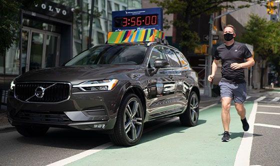 Volvo motivates virtual TCS New York City Marathon runners