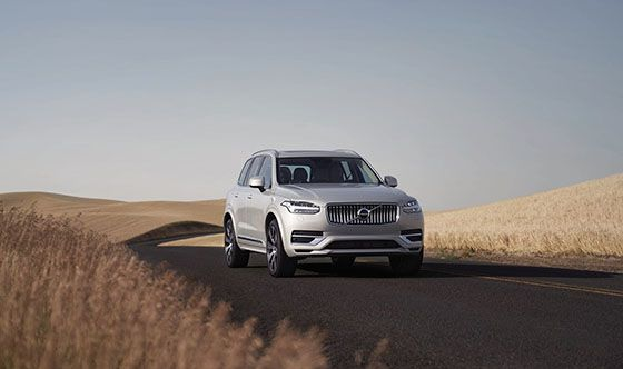 Volvo XC90 selected as one of the Best Family Cars of 2021