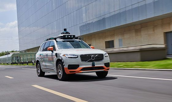 Volvo Cars teams up with DiDi