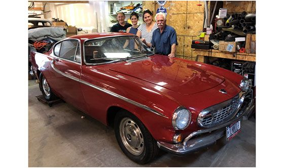 Irv Gordon's 1966 Volvo 1800 Will Be On Wayne Carini's Chassing Classic Cars