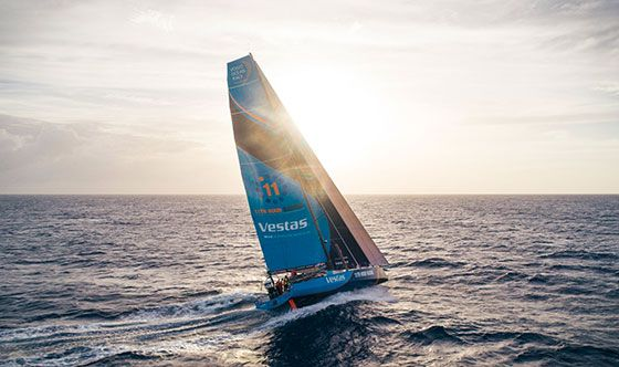 Vestas 11th Hour Racing involved in collision